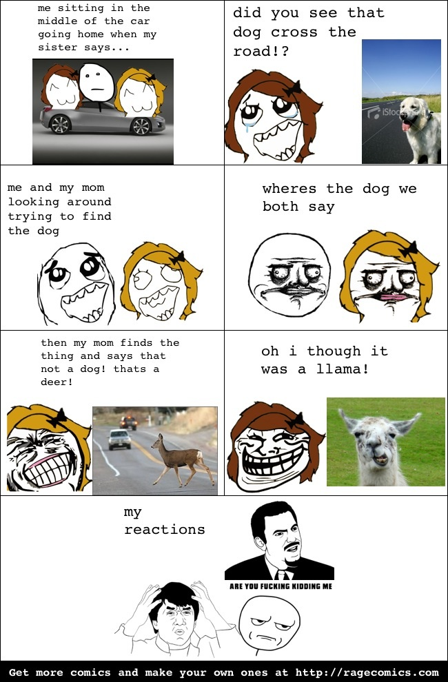 Driving Home (first rage comic)