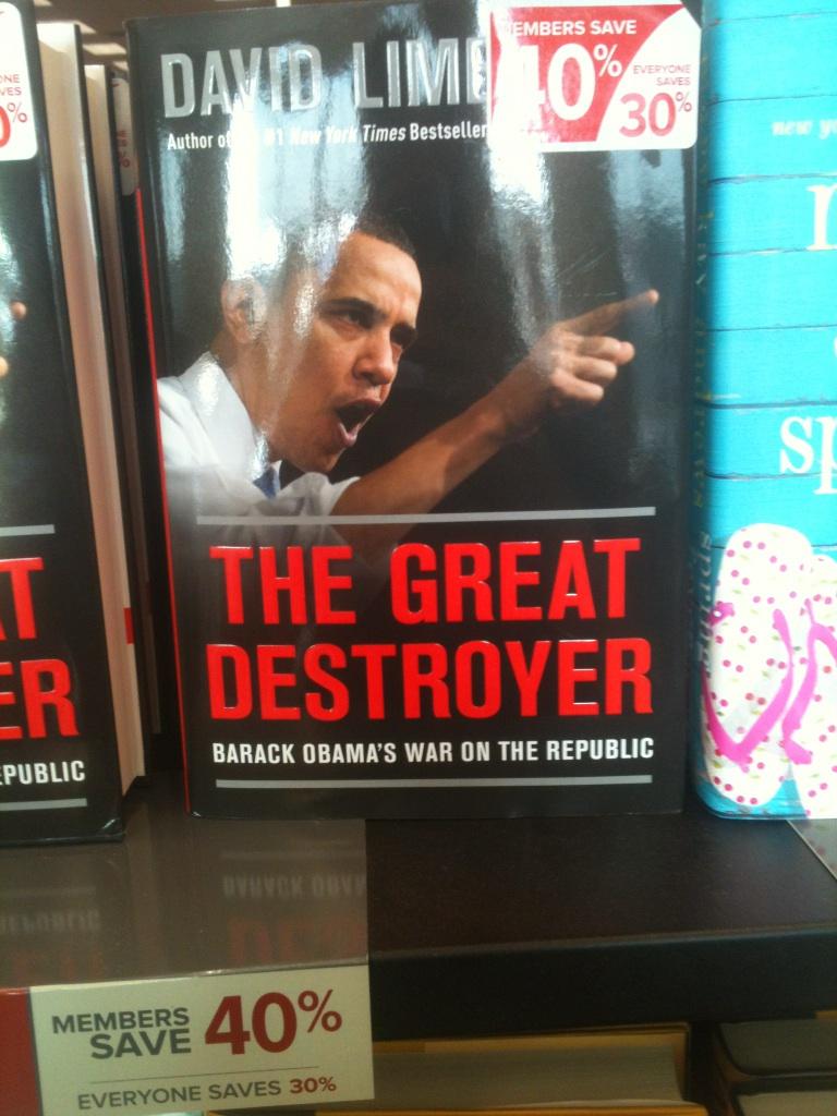 Barack Obama: THE GREAT DESTROYER... AND THE DEVOURER OF SMALL CHILDREN